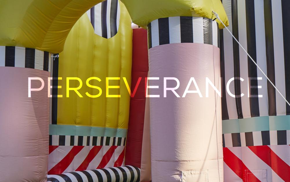 Life motto? - Perseverance