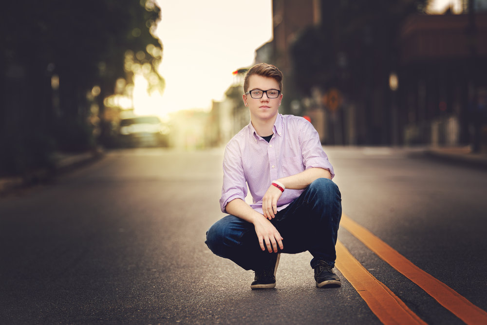 Nolan Senior Portrait Photography