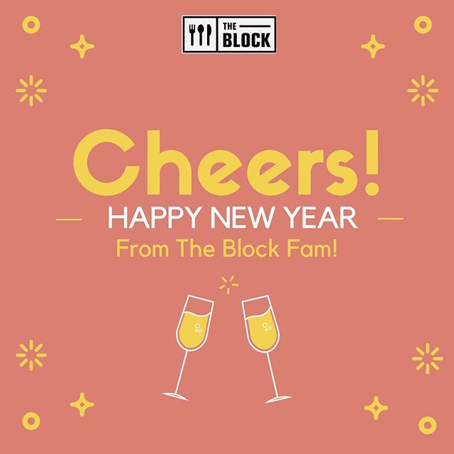 Happy New Year from The Block Fam! We will be closing at 7PM TONIGHT, make sure you come in for al your cravings before then! Remember to stay safe and we'll see you all tomorrow with regular hours 🎉🎊