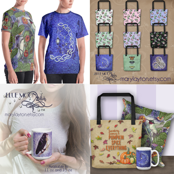 Shirts, totes, mugs and more available at Etsy!