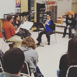 Driftless Winds Perform at Cape Central High School