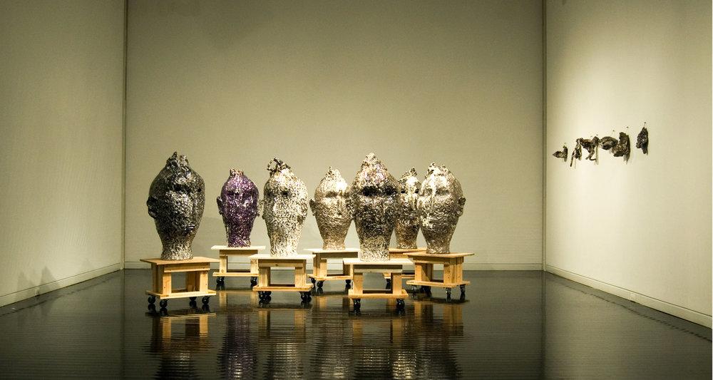 7Cabezas, Elmhurst Art Museum, Chicago 2009 ,exhibitions