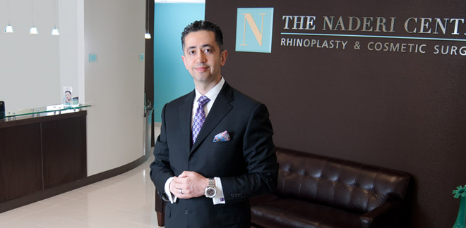 Dr. Shervin Naderi Board Certified Facial Plastic and Reconstructive Surgeon Maryland