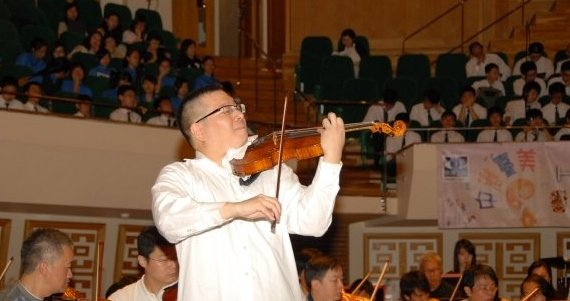 physician violinist