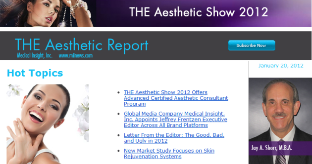 The Aesthetic Report