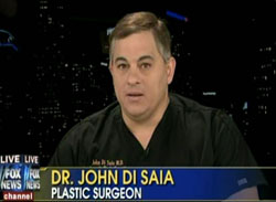 Dr. John Di Saia, Board Certified Plastic Surgeon California