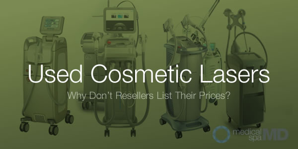 used cosmetic laser pricing
