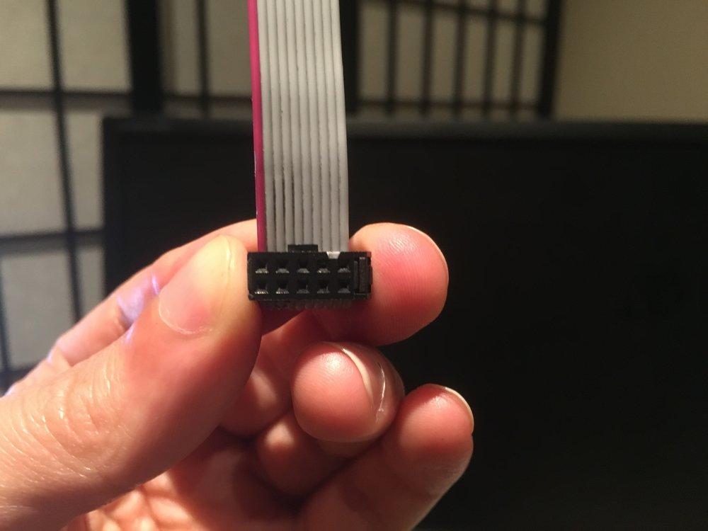 10-pin Ribbon Cable