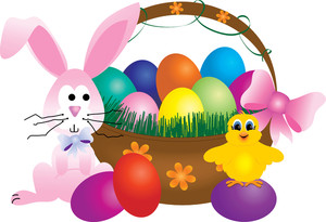 clipart_illustration_of_a_bunny_and_a_baby_chick_beside_a_basket_of_easter_eggs_0515-1003-2902-0038_SMU.jpg