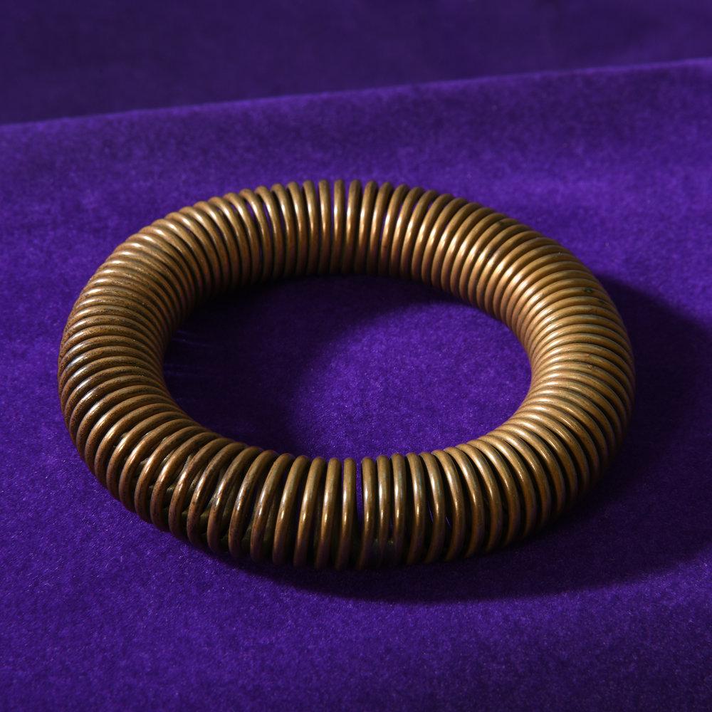 Harry Bertoia Coil Bracelet ca 1940s -
