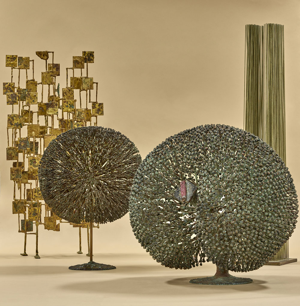 American Studio Works by Cranbrook artist Harry Bertoia and  Harry Bertoia Foundation