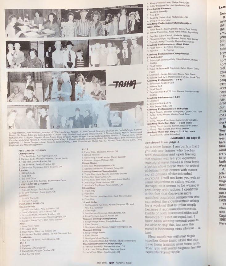 S&B MAY 1989