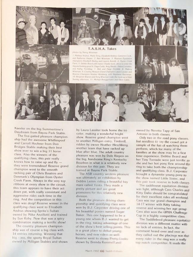 S&B MAR 1992