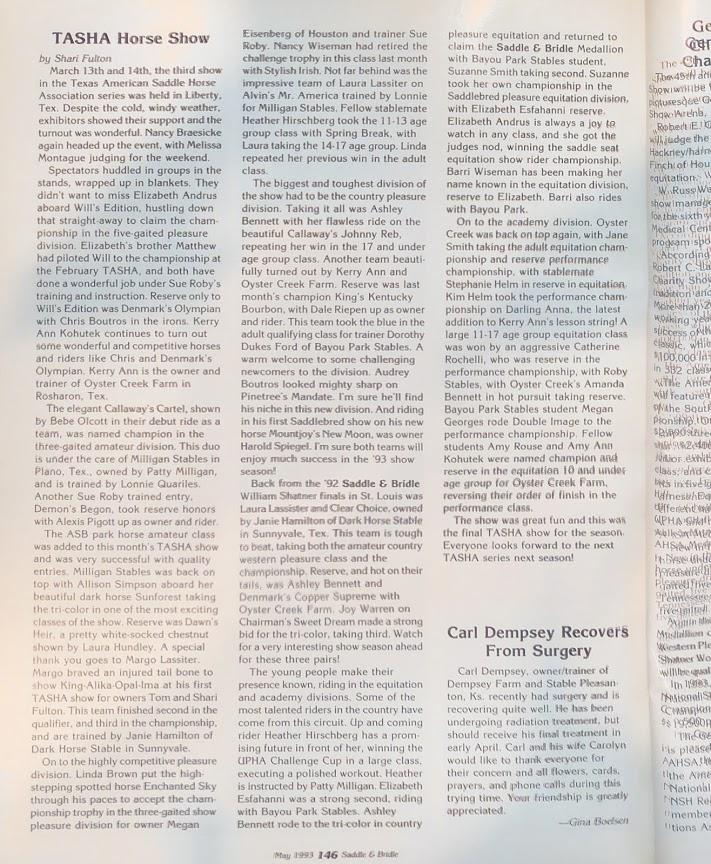 S&B MAY 1993
