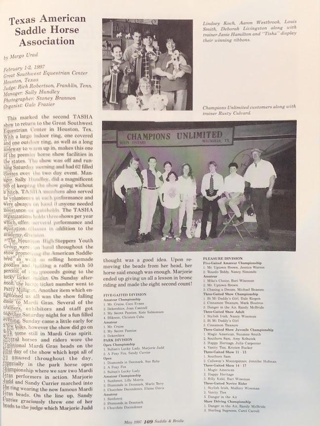 S&B MAY 1997