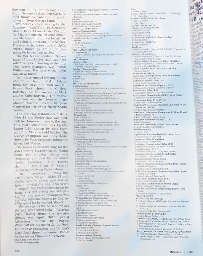 S&B JAN 2003