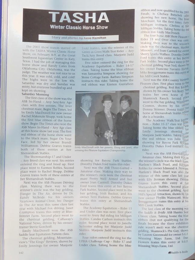 S&B MAR 2003