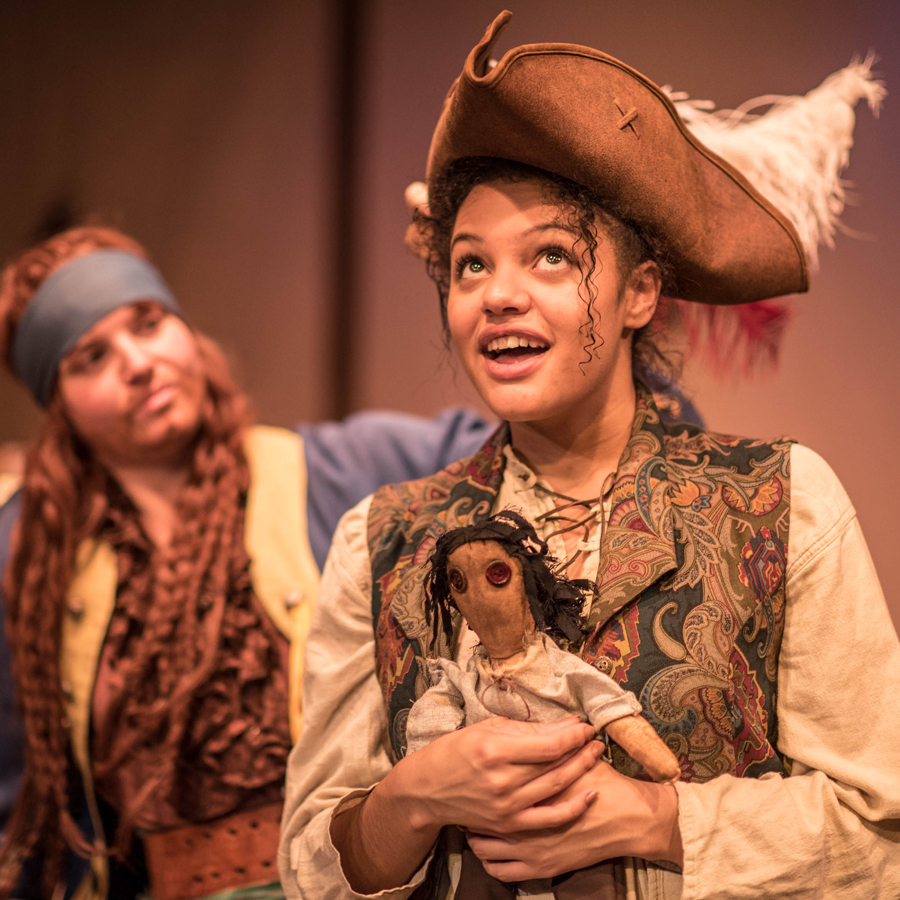 Treasure Island  - This highly acclaimed adaptation brings new life to Stevenson's classic through virtuosic performances and big laughs. Coming fresh off of 4 Dora Mavor Moore Award nominations, the cast of four shines in full historical costume while athletically swapping amongst a myriad of lively characters.A definite must-see.May 26 - July 1, 2019Shows @ 1:30pmAges 5 and up, duration: 1 hour