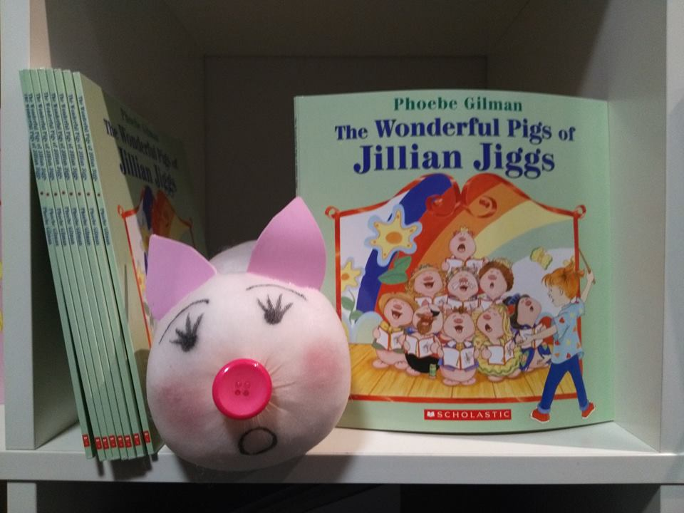 Make your own pigSLike Jillian Jiggs  - Click the text for Pig Making Instructions and many great educational activities to do with your family over the holidays!