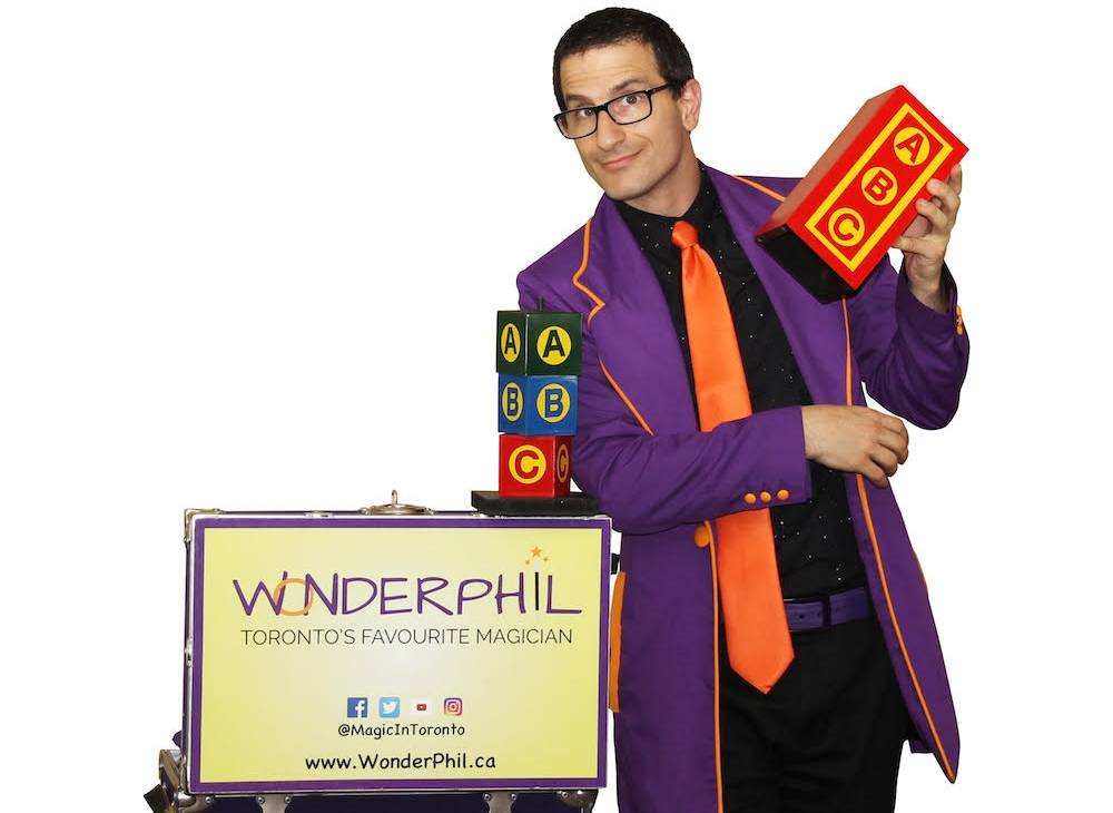Wonderphilthe magic guy - Now closed.  Thank you for coming!  He makes a lot of mistakes, but a lot of magic too.Learn more about Wonderphil HERE.See Wonderphil in action HERE.3 and up