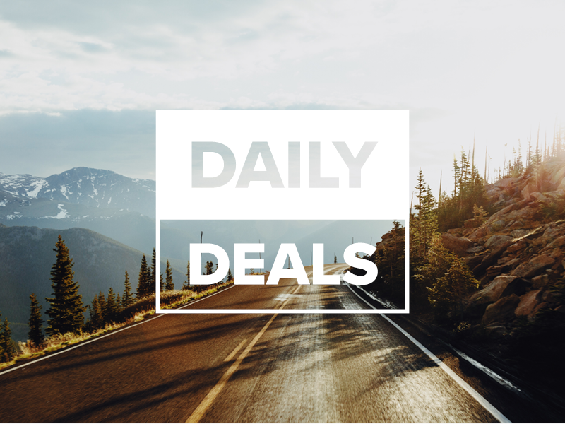 Look out for our Daily Deals - Watch this space to see great deals released daily!