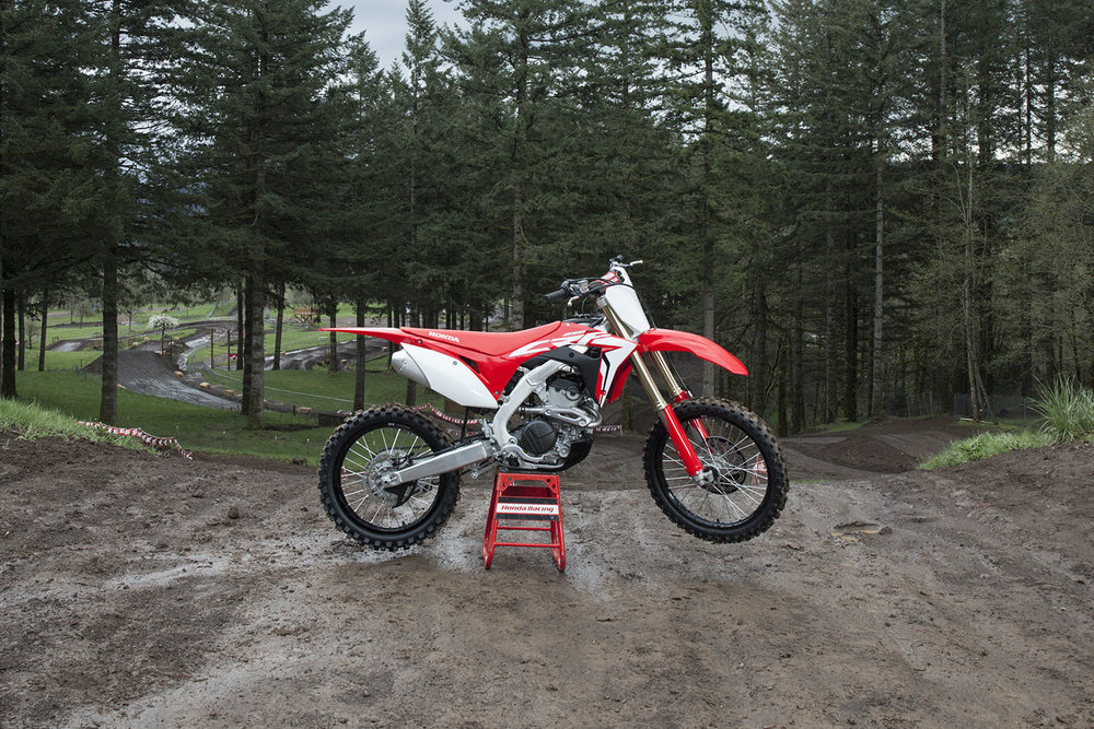 The all new 2019  CRF250R  is one of the most popular off road bikes in Honda's lineup, and the weapon of choice for many City Honda Manawatu riders.