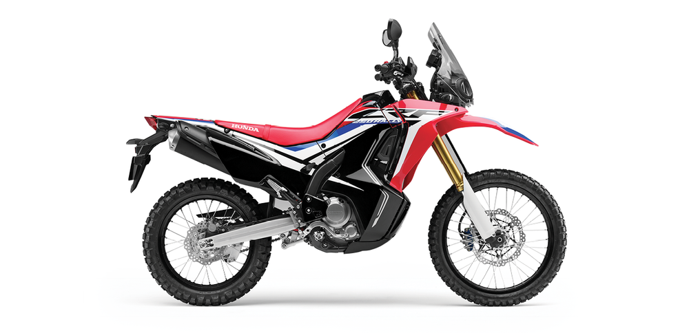 CRF250L Rally - See the Full SpecificationsArrange a Demo →