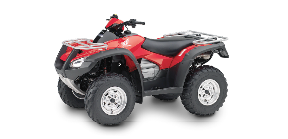 TRX680 FA - 680cc, Four-Wheel Drive, Automatic DCT, IRS (Independent Rear Suspension)See the Full SpecificationsArrange a Demo →
