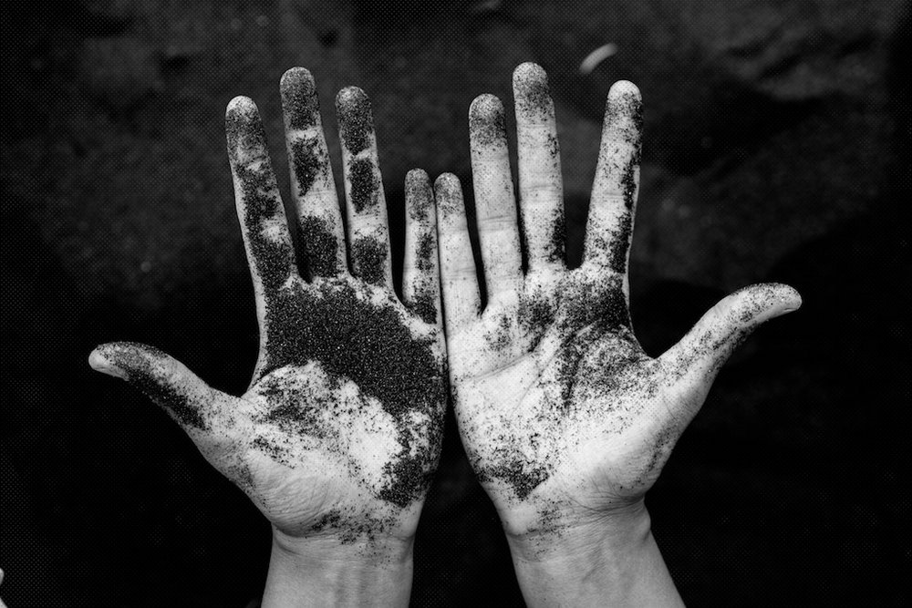 Dirty  hands - learning through doing