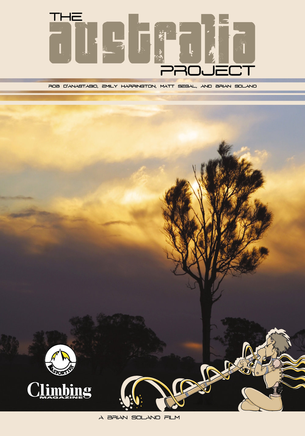 The Australis Project DVD Cover