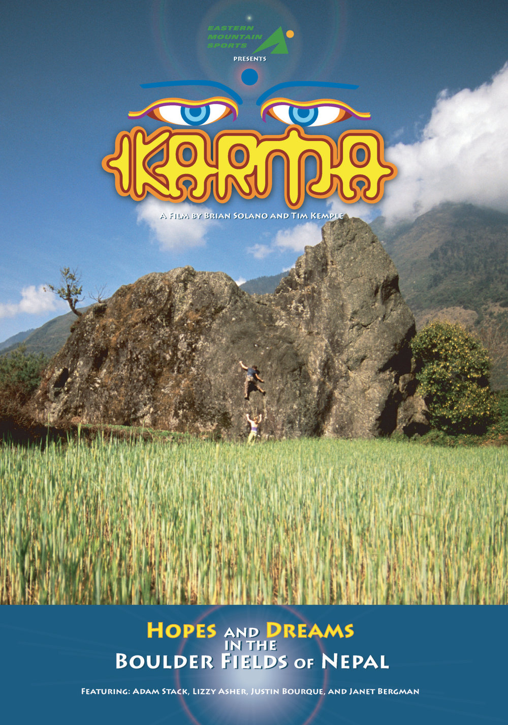 Karma DVD Cover
