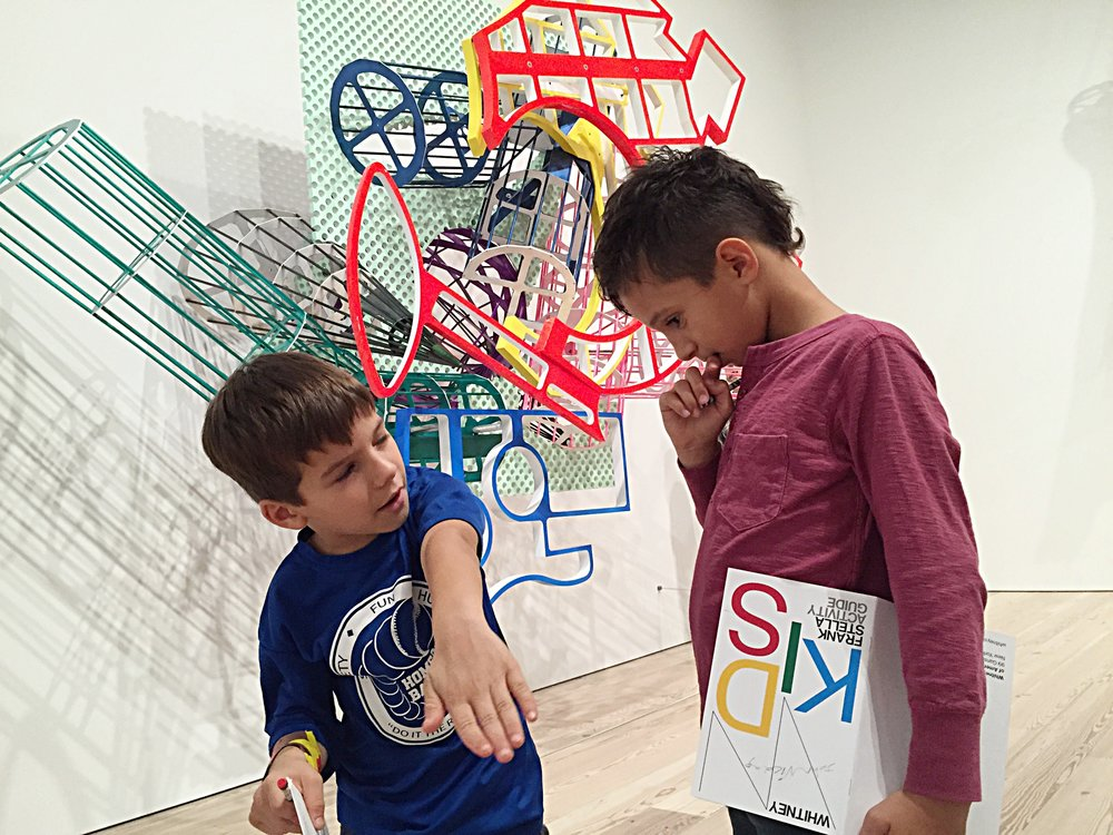 Families with kids and teens rock the art world non-stop