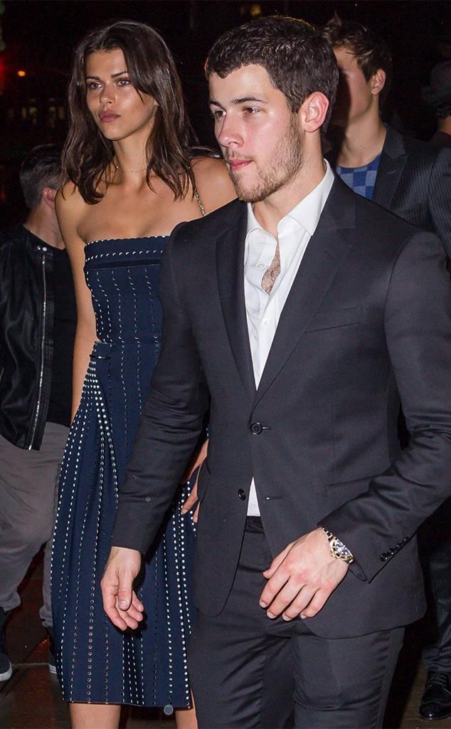 Georgia Fowler with rumoured boyfriend Nick Jonas