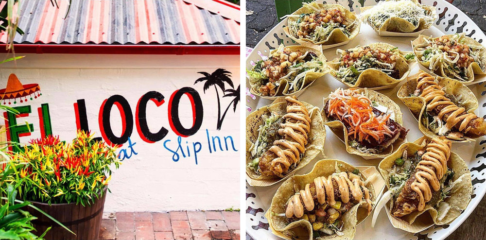An outdoor cantina in Sydney's CBD combining food, fun, and tequila for the ultimate Mexican fiesta. The perfect spot for a cheeky lunch break or after-work drinks. Tofu tacos available, what more could you need.   Location:  64 Foveaux St, Surry Hills
