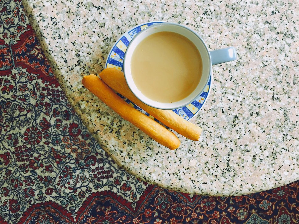 A cup of tea. How Egyptians start and end their day.