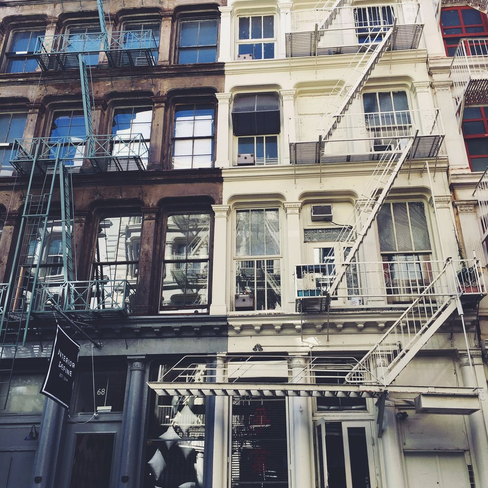 An original photo by me taken in SoHo, Manhattan in the summer of 2017.
