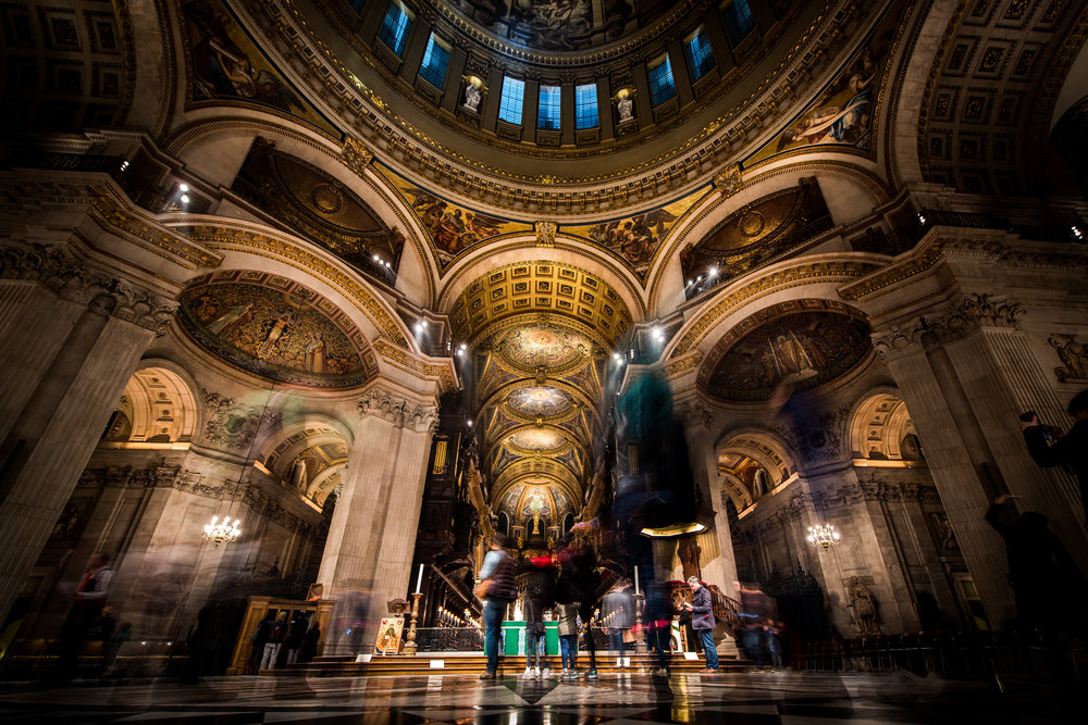 A busy St Pauls