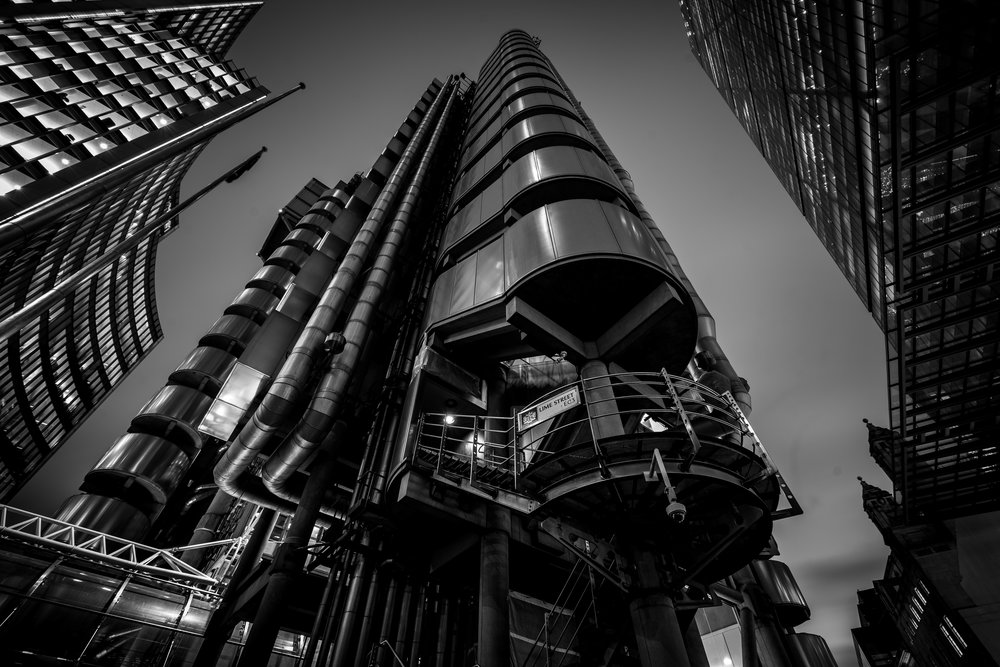 Lloyd's of London, still not got a shot I'm proud of from this location. Think i need a wider angle.