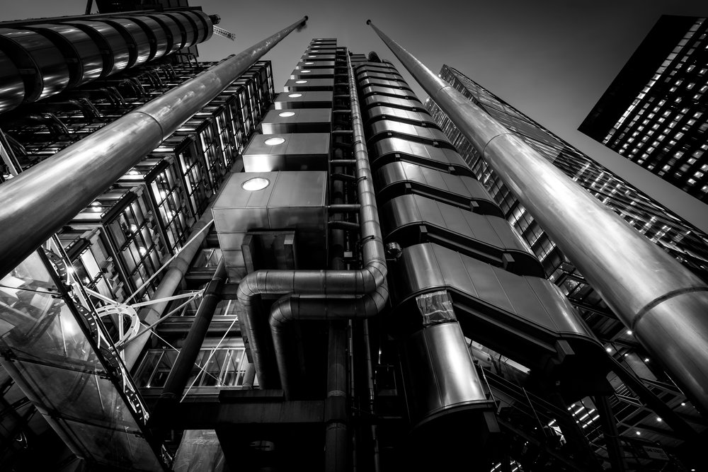 More Lloyds, not sure Ive nailed this composition. I think it needs a wider angle and moving clouds