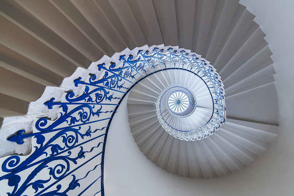 One of the most photographed stair cases in London, Queens houses famous tulip staircase. Its actually much less grand in person, the idea angle gives it more gravity. I was there on a relatively quiet day and there was a queue to take a shot of it.  12-24 f4 at 13mm, f4, 1/20 iso 100