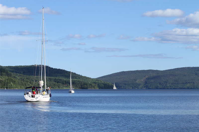 Explore the High Coast on your boat - The Höga Kusten is World Heritage also for sailing