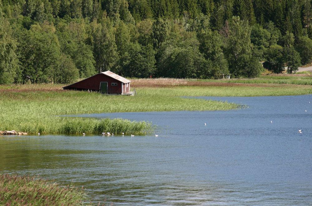 The Ullångersfjärden near Sjöland, Ullånger