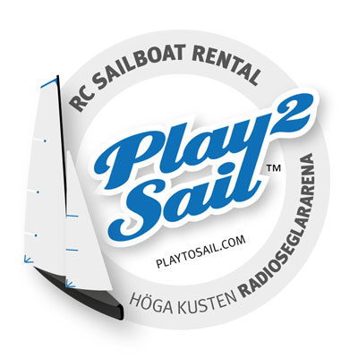 Radio-controlled sailboat rental in the High Coast / Höga Kusten in Sweden