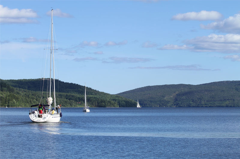 sailing to Skuleberget - to experience the High Coast at its best