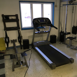 Pat's Gym in Docksta