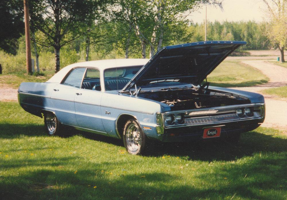 1971 Plymouth Fury III - Auto Detailing