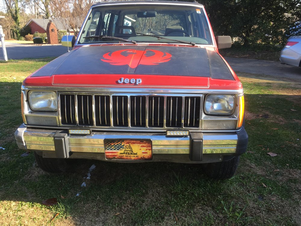 1990 Jeep Cherokee - Painted and detailed.