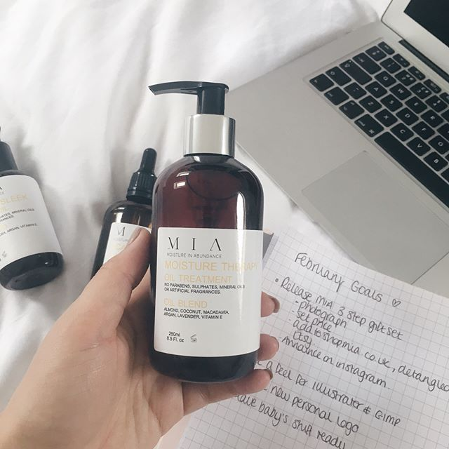 PLANNING, PLANNING, PLANNING - getting ready to release the 3-step gift set for you guys combing our 3 favourite oils into one package. As soon as we get some good pictures it will be available on the website to buy ☺️ You can see what else I'm up to when I'm not working on MIA on my personal Instagram @rebecca.farley 💕
