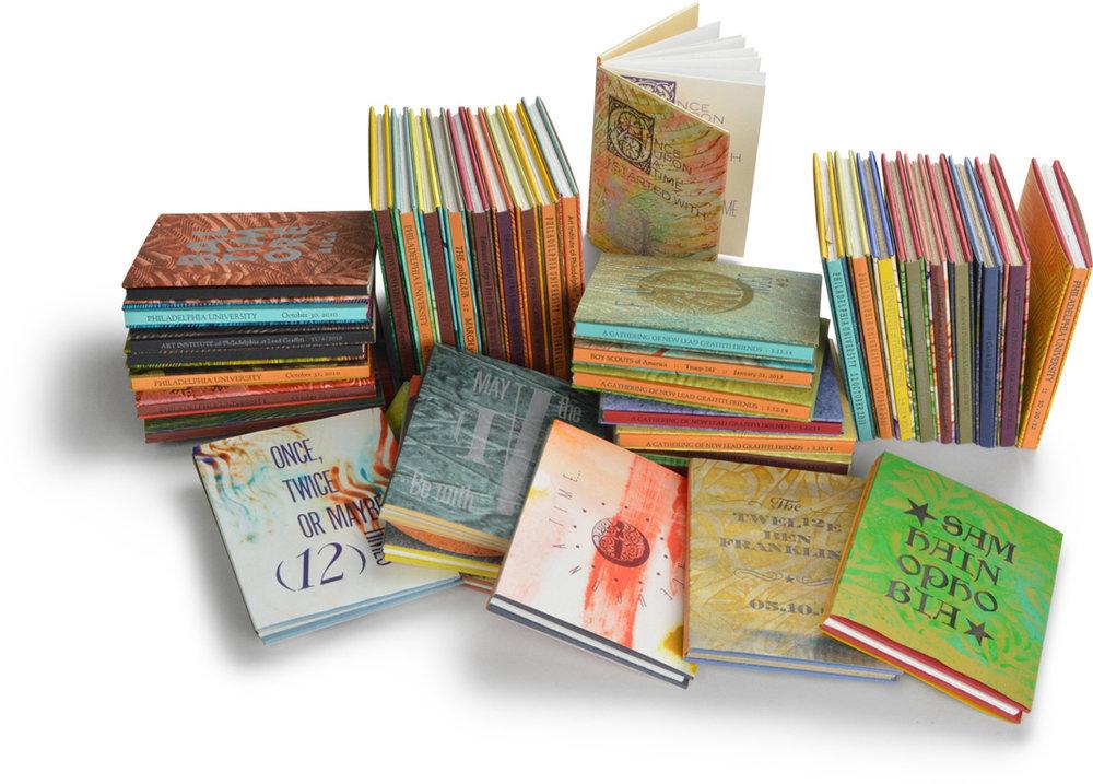 Meander Book Creative Letterpress workshop grouping