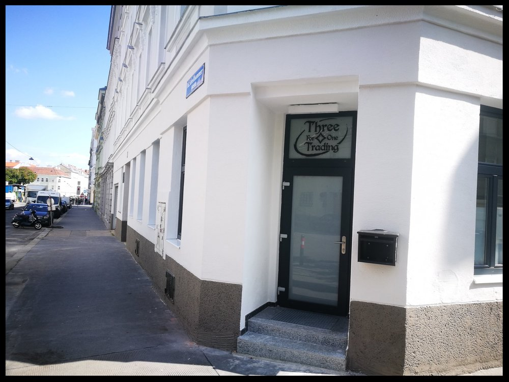 Unser Geschäftslokal findet ihr im 16. Bezirk in Wien. -